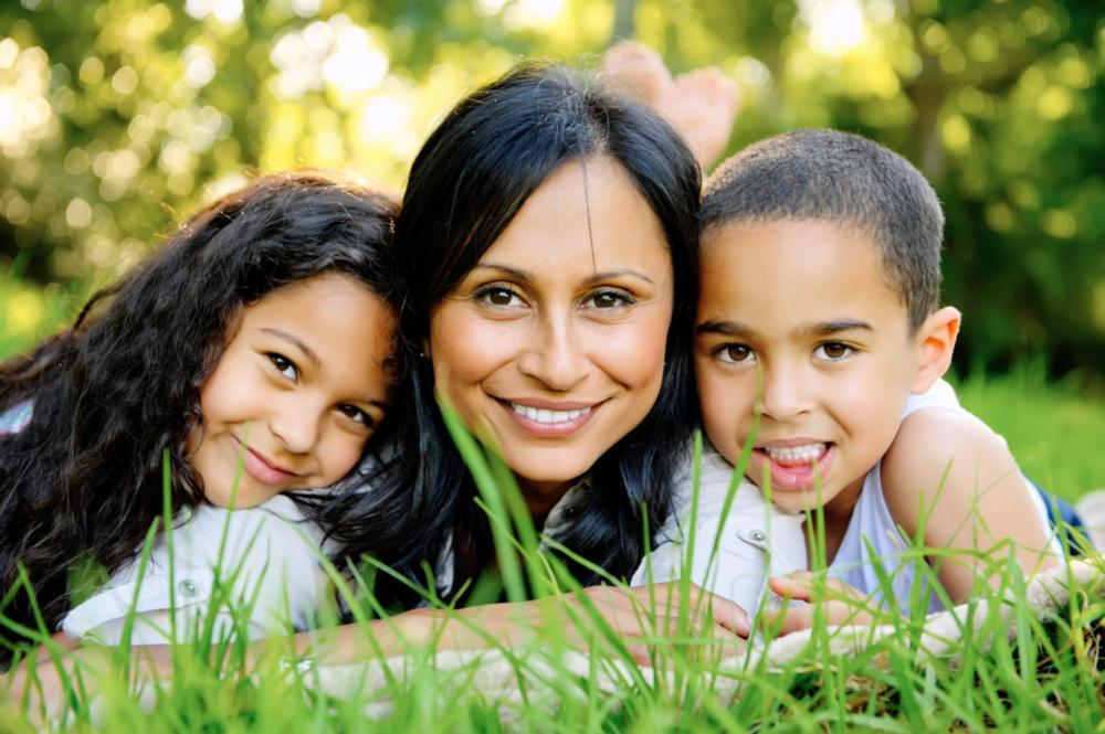 family smiling | Pediatric Dentist Bridgeton MO