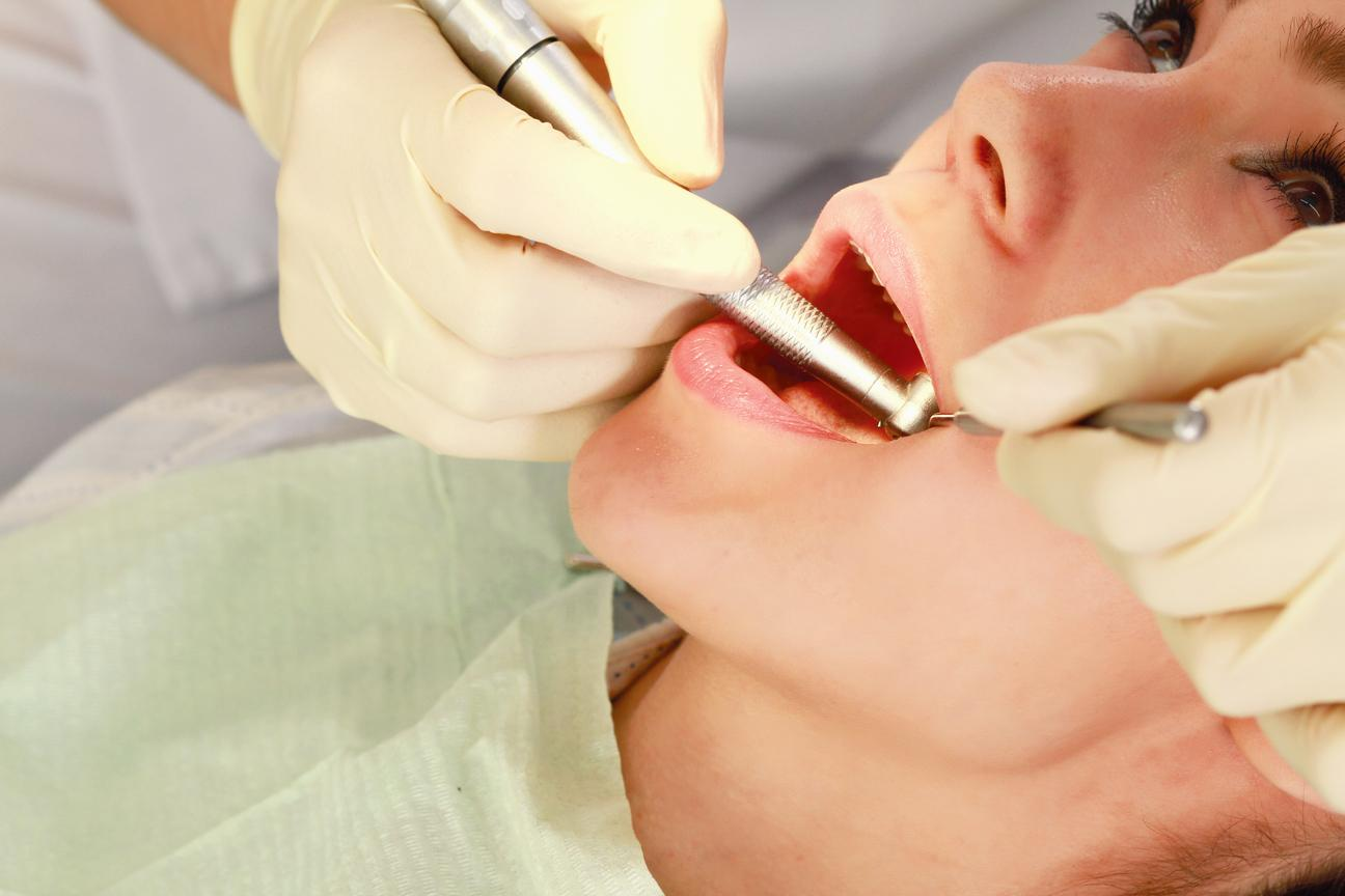 Patient recieving a root canal treatment in Bridgeton, MO