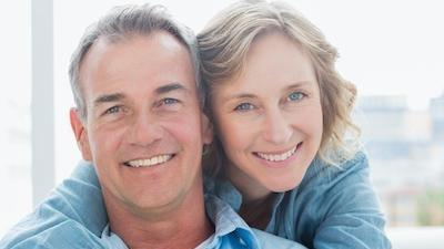 Couple smiling together | Dental Cleanings in Bridgeton MO