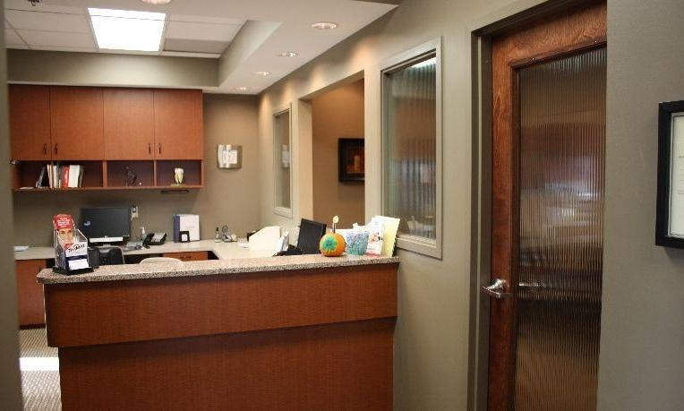 the front desk of our bridgeton mo dentist office | Kevin Burgdorf DDS