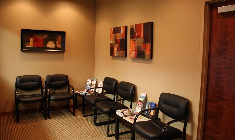 our office reception and front office area | bridgeton mo dentist