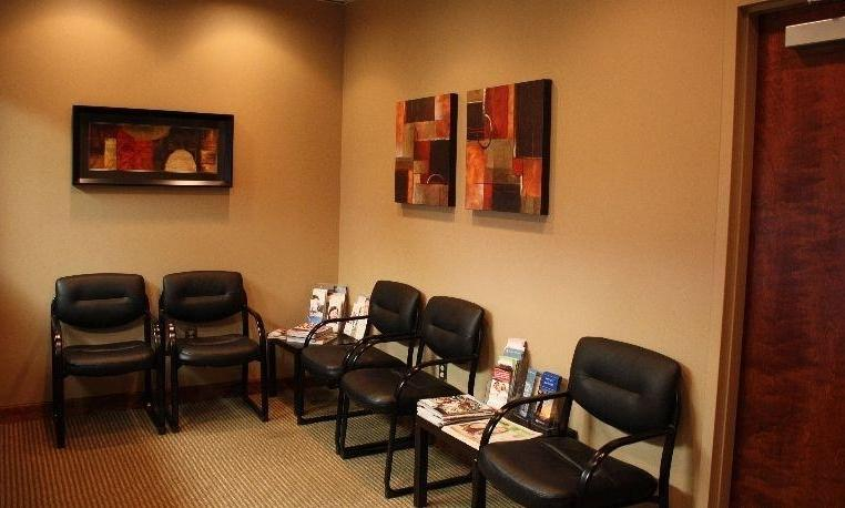 Patient waiting area at Dr Kevin Burgdorf DDS in Bridgeton, MO